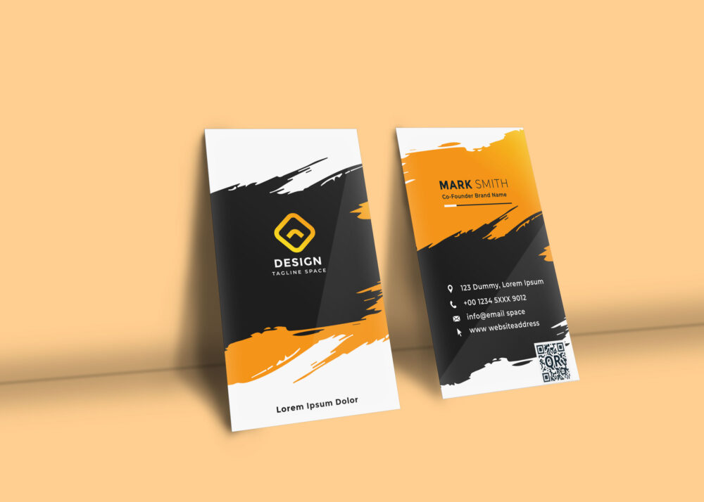 Business Card Presentation Mockup