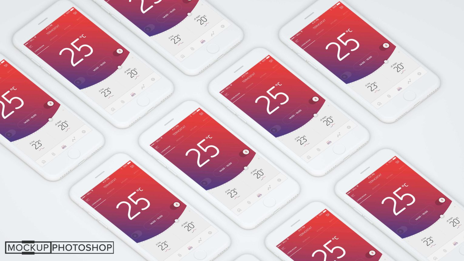 Awesome iPhone Mockup Collection
