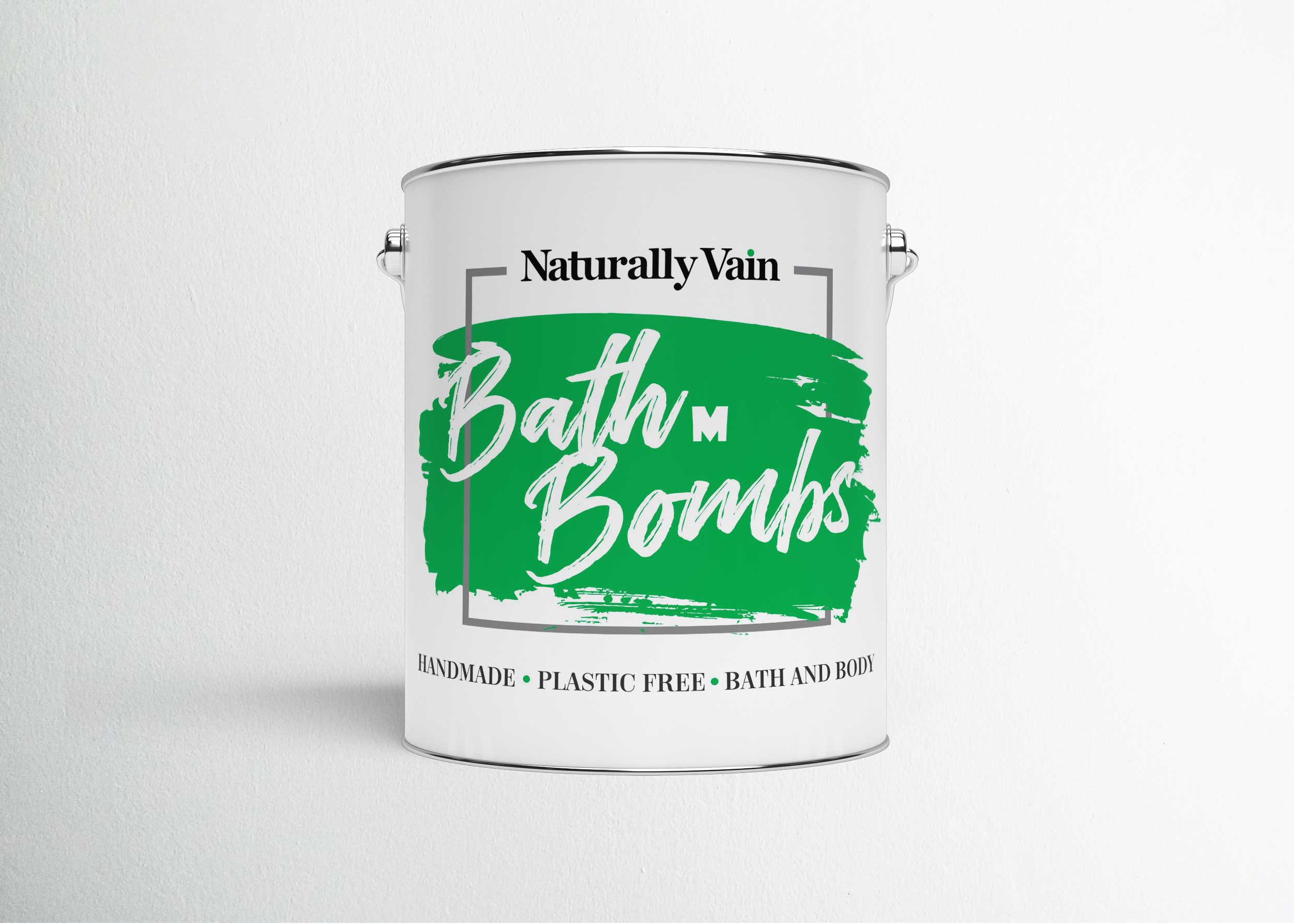 Metal Tin Can Packaging Mockup