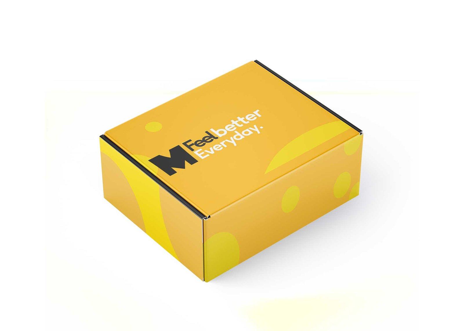 Paper Carton Box Mockup