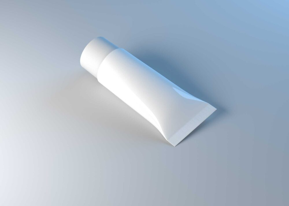 Cosmetic Tube White