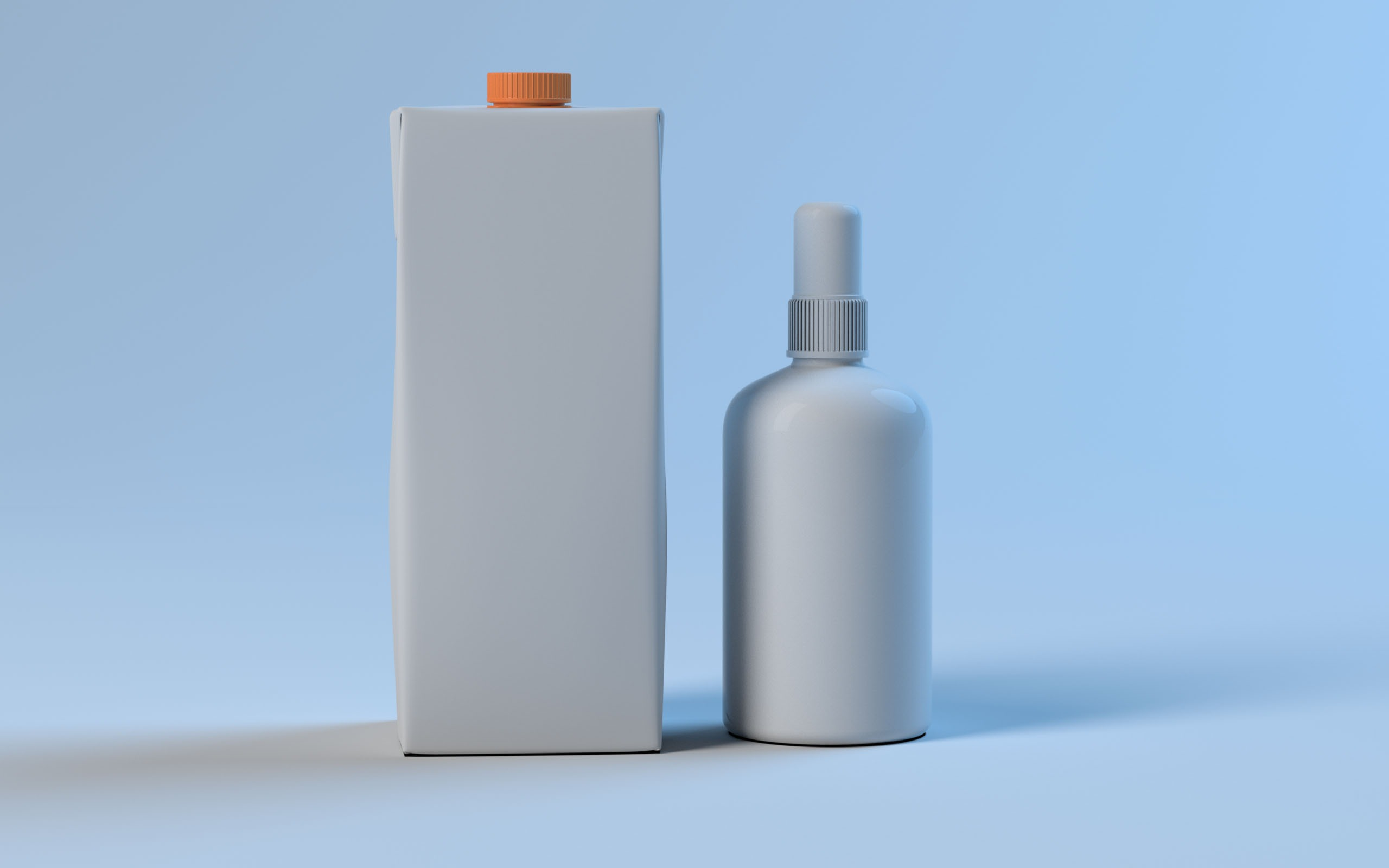 Real Juice Bottle Model