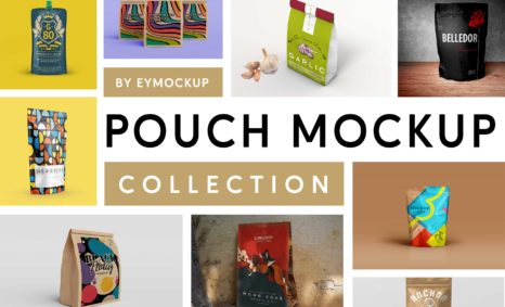 Pouch Mockup Collection