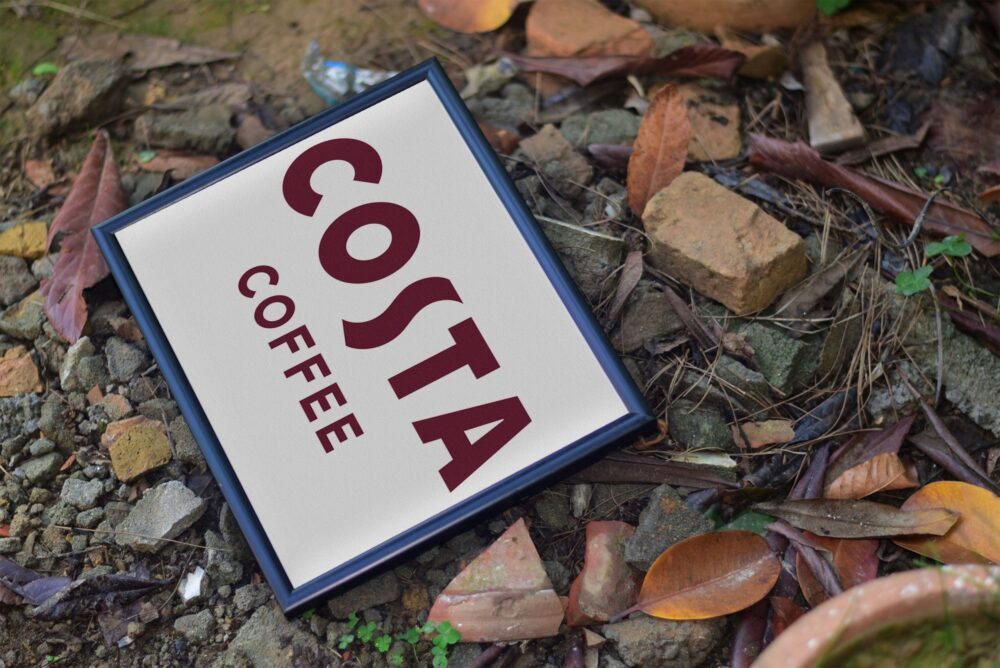 Costa Coffee Poster Mockup