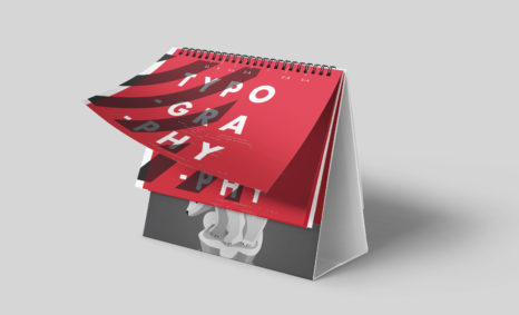 Office Desk Calendar Note Mockup