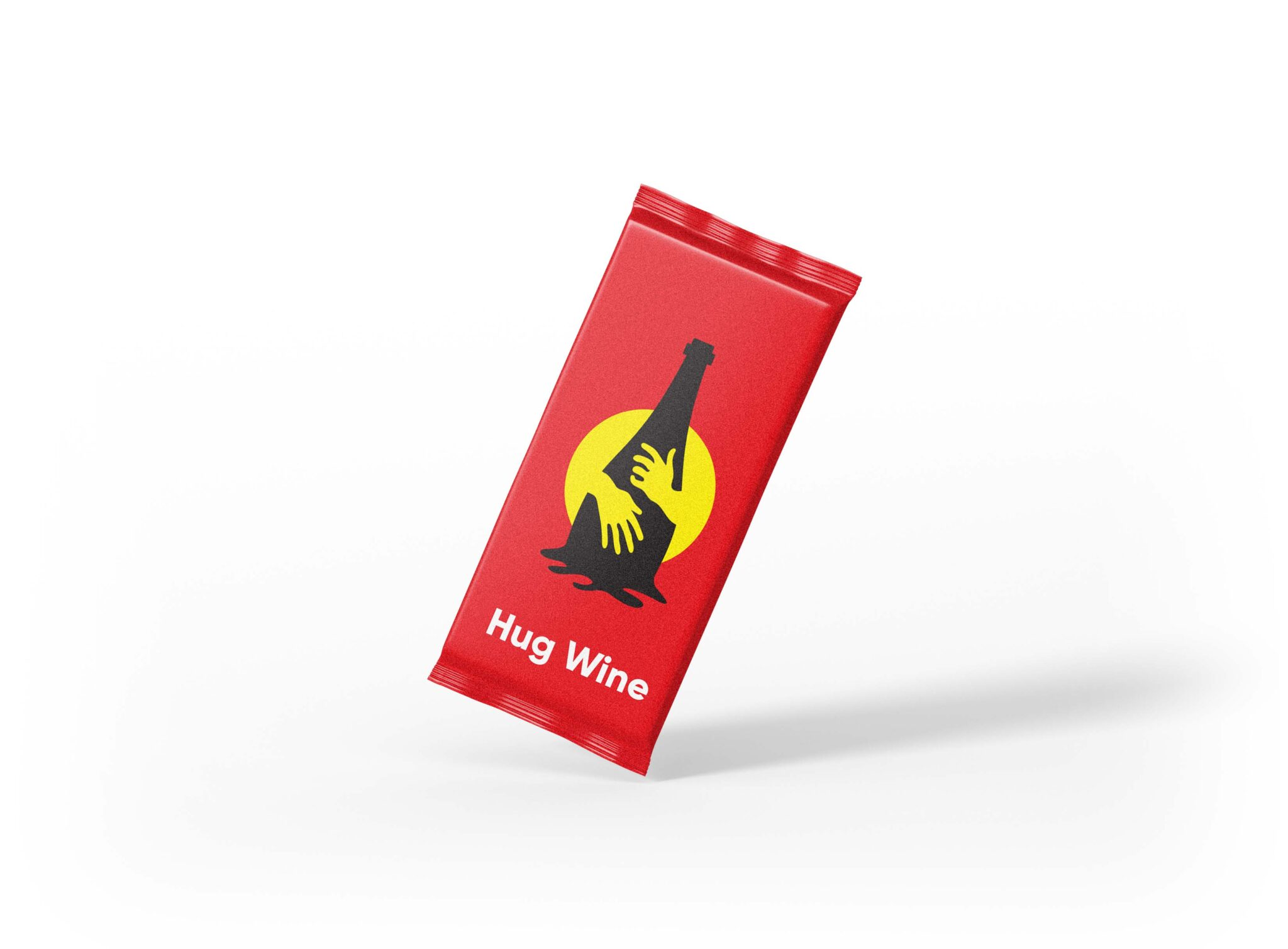 Red Choco Packaging Mockup