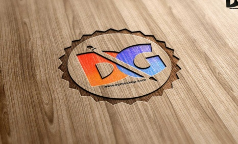Wood PSD Mock-Up