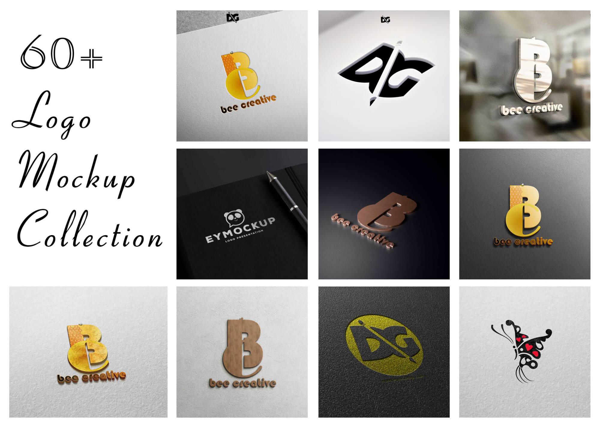 Logo Mockup Collection