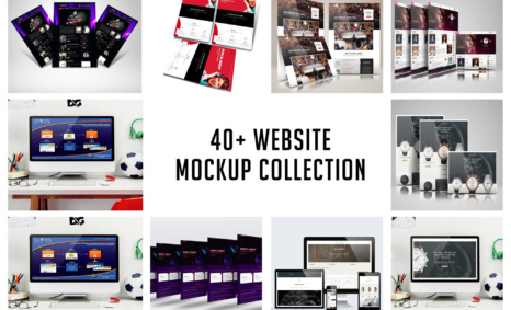 Website Mockup Collection