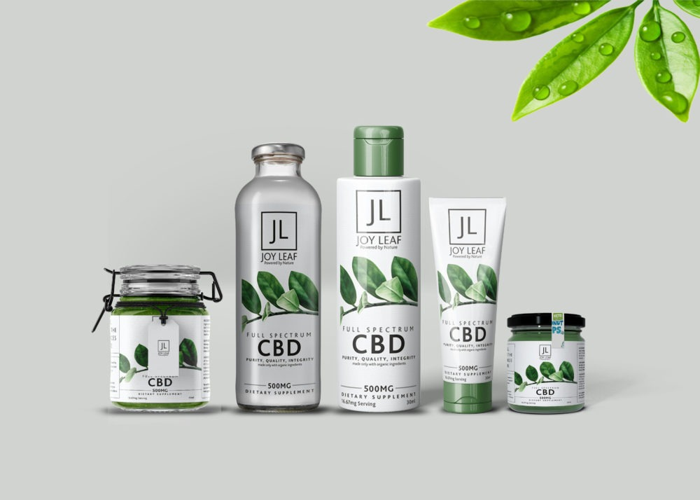 CBD Bottle Mockup