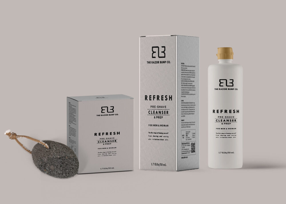 End Skin Care Packaging Mockup