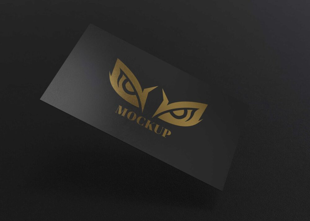 Adrianna Gold Card Mockup