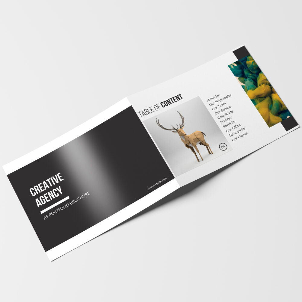 nice Corporate Brochure Design