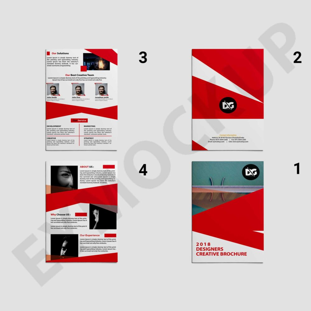 Red Corporate Template