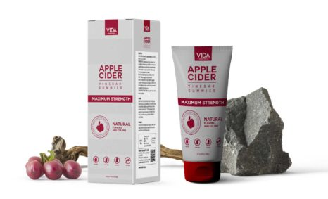 Vida Natural Apple Cider Vinegar Mockup