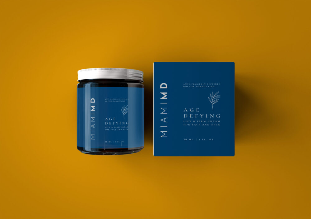 attractive soothing balm packaging mockup