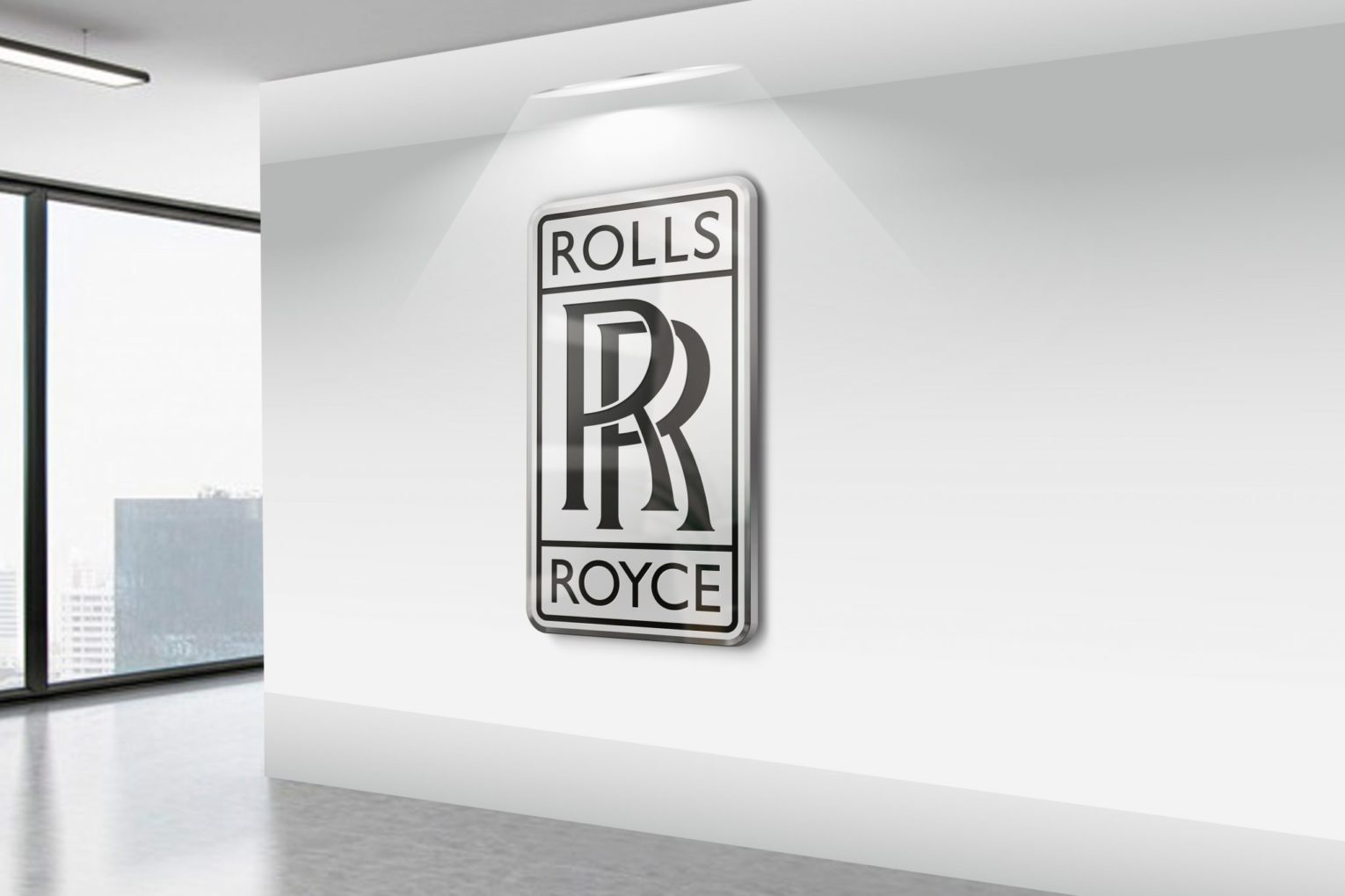 Royal 3D Logo Mockup