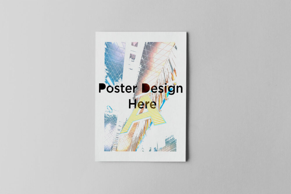 Attractive Poster Mockup