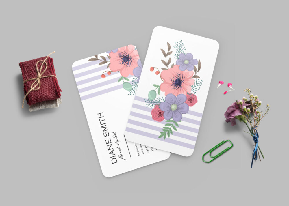 Professional Styled Business Card Mockup Collection