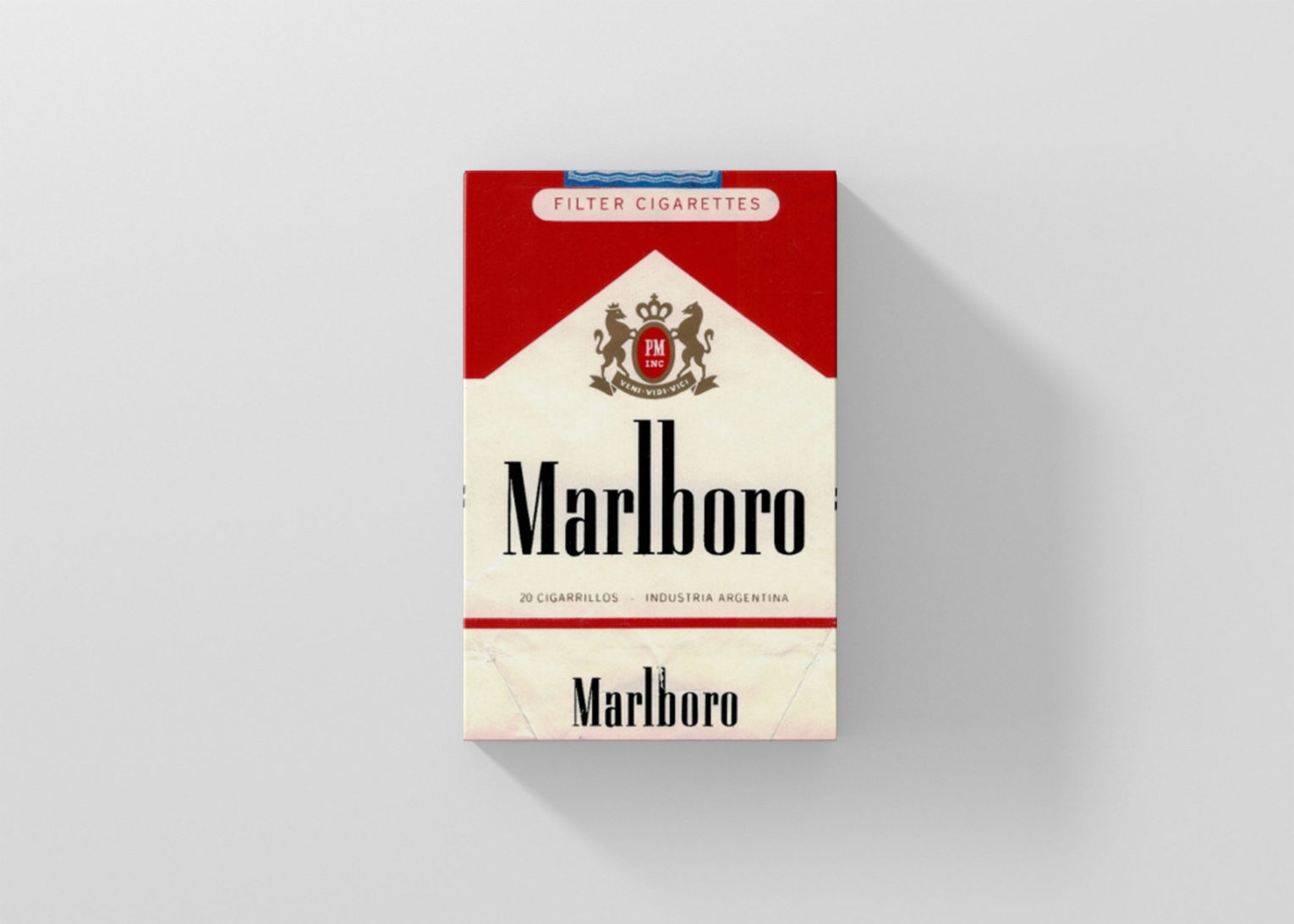 Colorful Filter Cigarette packaging Box Mockup