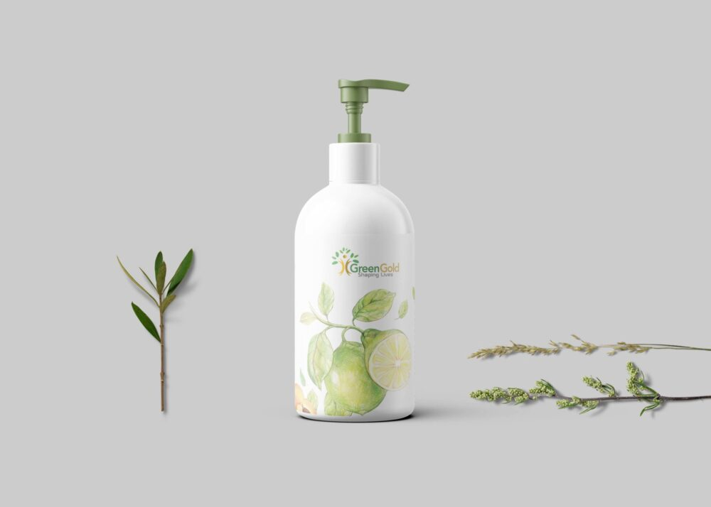 Latest White pump Bottle Hand Wash Mockup Collection
