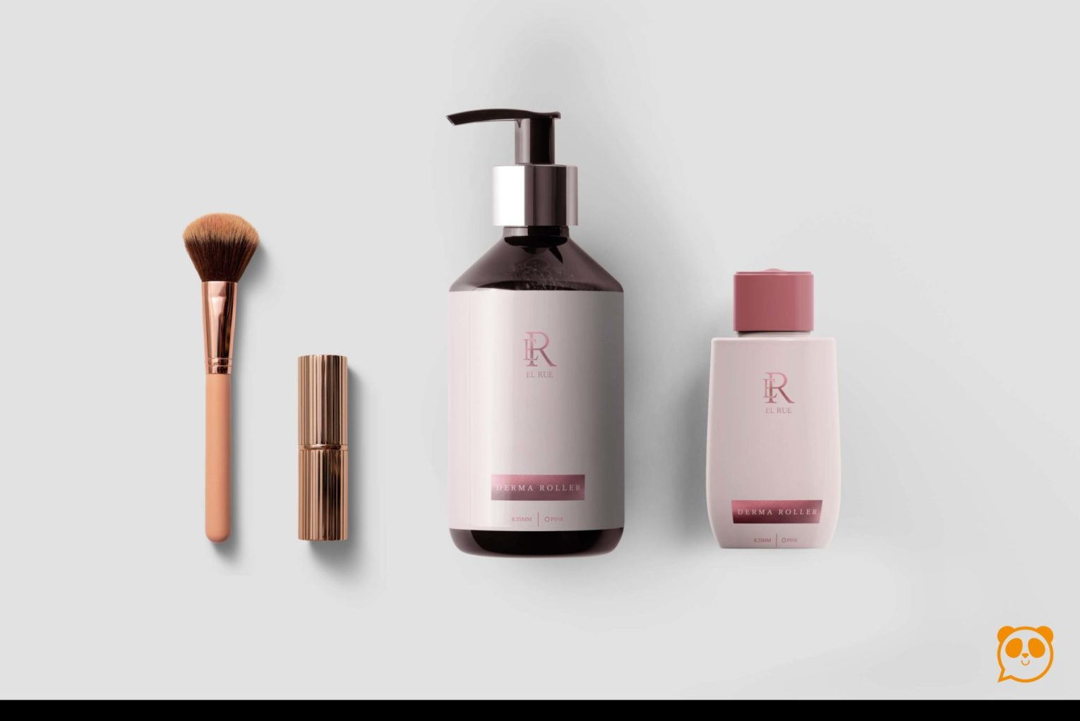 Elegant Women Cosmetics Pump Bottle Mockup