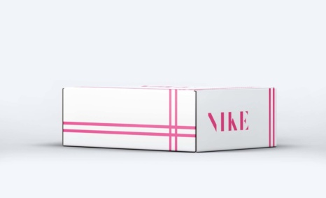 Branded Collection NIke Shoe box packaging Mockup