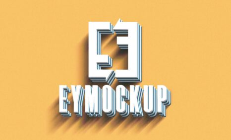 Latest 3D Design Eymockup Logo Collection