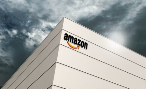 Amazon Building Logo Mockup