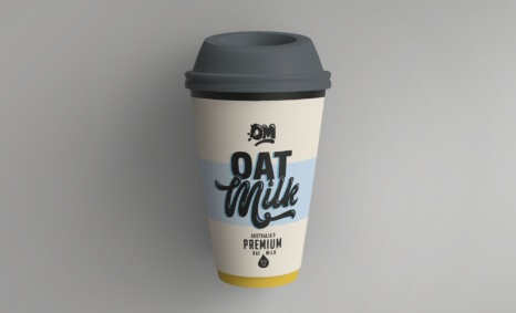 Free Disposable Coffee Paper Cup Mockup