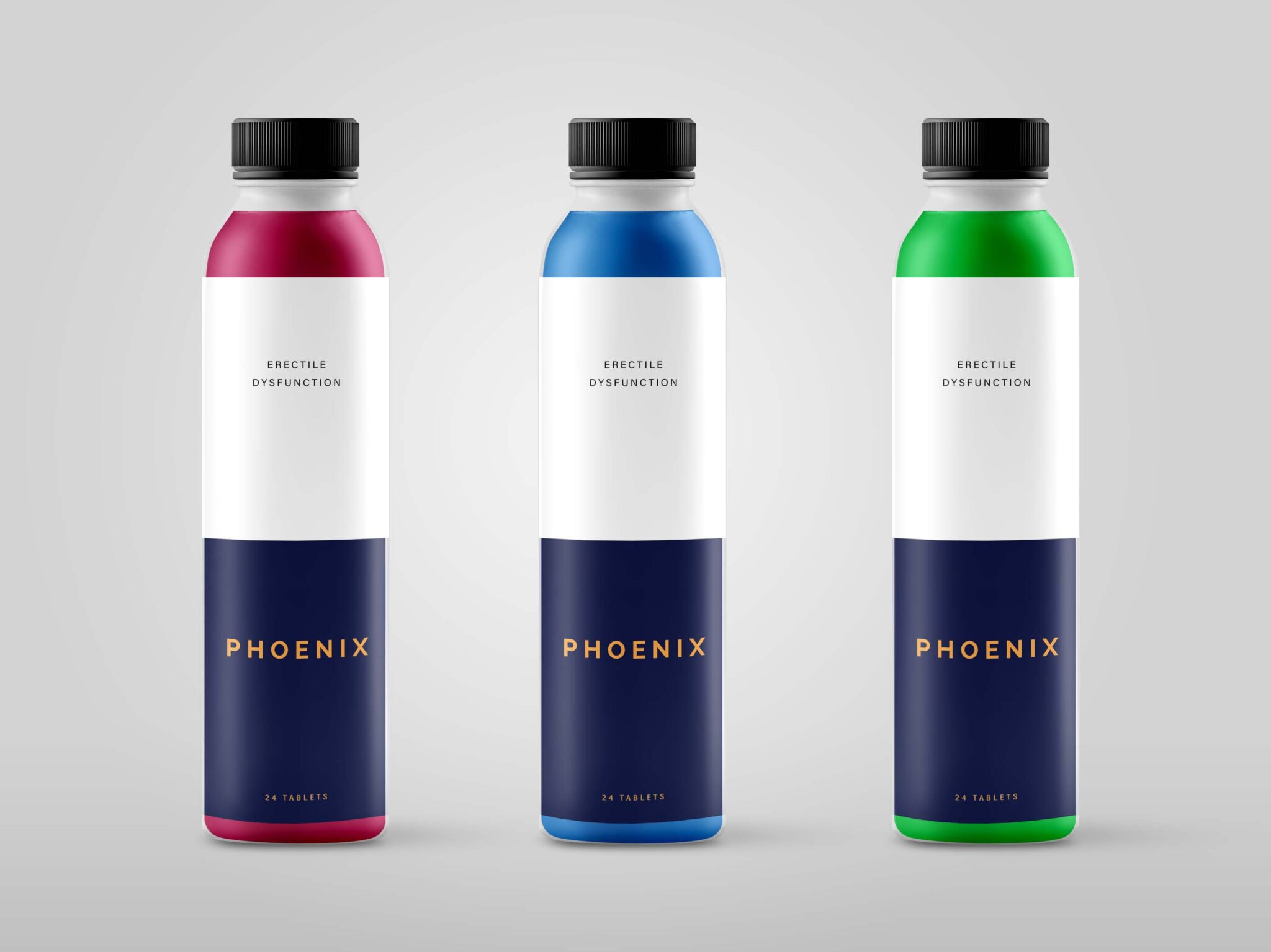 Free Large Size Juice Bottle Mockup